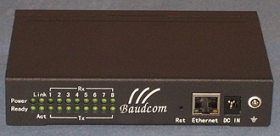 8channel serial to ethernet converter