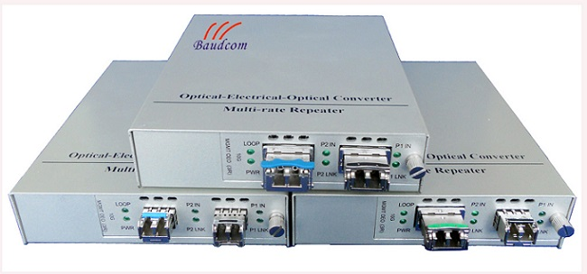 10G Optical-Electrical-Optical Converter (3R REPEATER)
