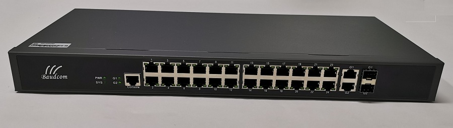 24 100M fast ethernet switch